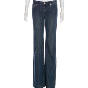 NWT Michael Kors Dark Wash Wide Leg Jeans